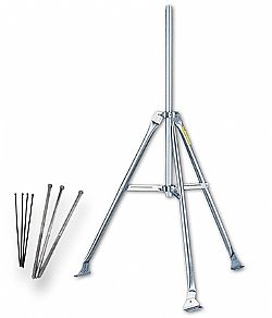 "Mounting Tripod With three 18"" (0,5 m) lag bolts  7716A"
