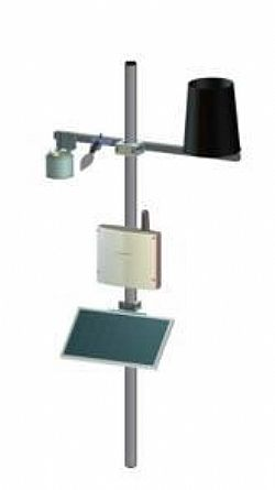 MeteoSense pathogens analysis with solar panel MP-0107-LG